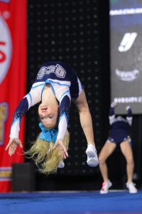 Tayla Weatherhod at the NCA Championships