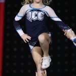 Tayla Weatherhog at the NCA Championships