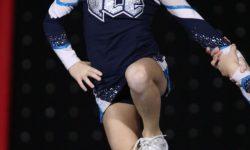 Tayla Weatherhog at the NCA Championships